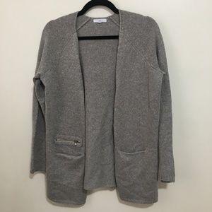 GAP open front cardigan with pockets AT13